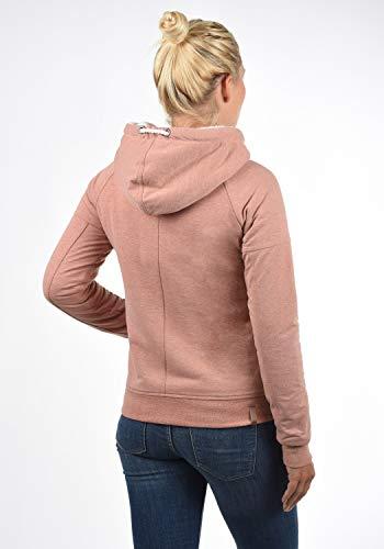 DESIRES Mandy Pile Damen Sweatshirt Pullover Pulli Mit Teddy-Futter, Größe:XS, Farbe:Powder Rose (P5178M) - 3