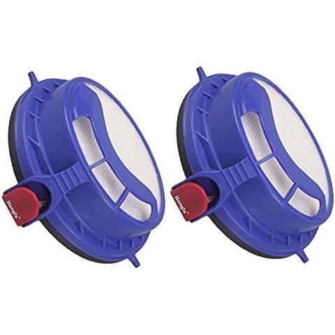 HONFA 2pcs Filtro Post Motore HEPA lavabile e riutilizzabile di ricambio per aspirapolvere Dyson DC25verticale