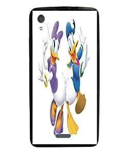 Techno Gadgets Back Cover for Lava Iris X1 Grand