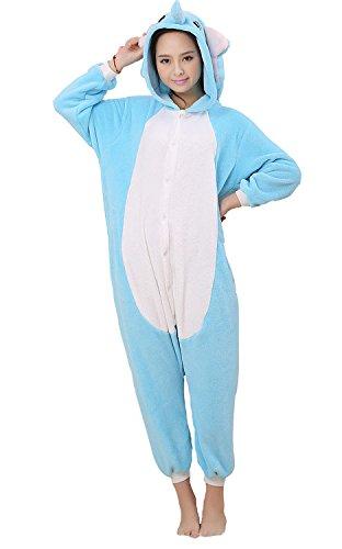 splay Fasching Halloween Kostüm Cartoon Costume Onesie Animal Pyjamas Cosplay Kleidung Elefant (Halloween-spiele Für Eine Herbst-festival)