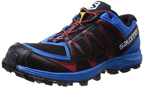Salomon Fellraiser, Scarpe da corsa uomo Blu Azul - Blau (Black/Methyl Blue/Quick) 44 2/3