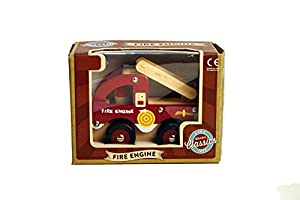 A to Z: 62577 - Motor de Fuego clásico de Madera