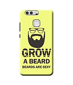Be Awara Beard is Sexy Designer Mobile Phone Case Back Cover For Huawei P9
