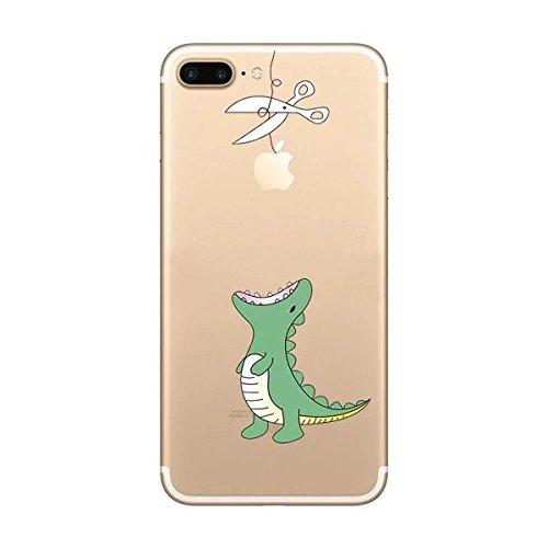 Cover iPhone 6Plus iPhone 6sPlus, Sportfun morbido protettiva TPU Custodia Case in silicone per iPhone 6Plus iPhone 6sPlus (08) 09