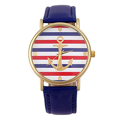 sanwood-womens-striped-anchor-faux-leather-wrist-watch-blue