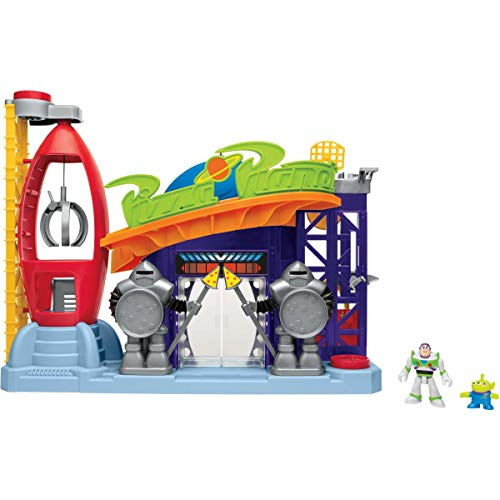 Mattel Imaginext Disney Toy Story Pizza Planet con Figura de...