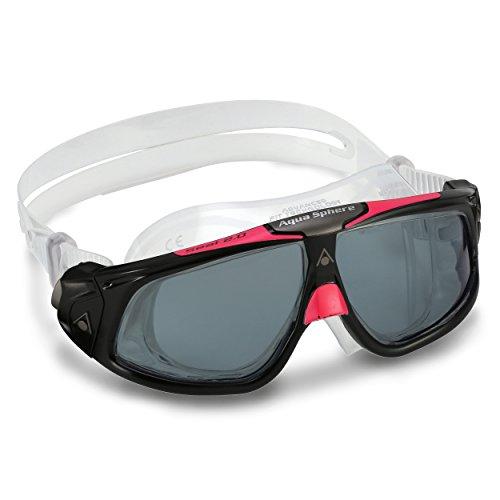 Aqua Sphere Seal 2.0 Lady Schwimmbrille, Dark Lens-Black/Pink, Damengröße