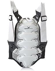 Black Crevice Protector Espalda  Blanco M