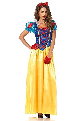 Leg Avenue 85407 - Klassische Schneewittchen Damen kostüm, Größe Small (EUR 36)