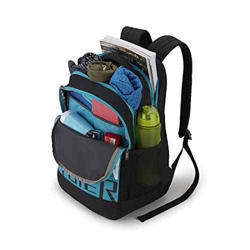 Best american tourister backpack in India 2020 American Tourister Bounce 28 Ltrs Black Casual Backpack (FR9 (0) 09 001) Image 5