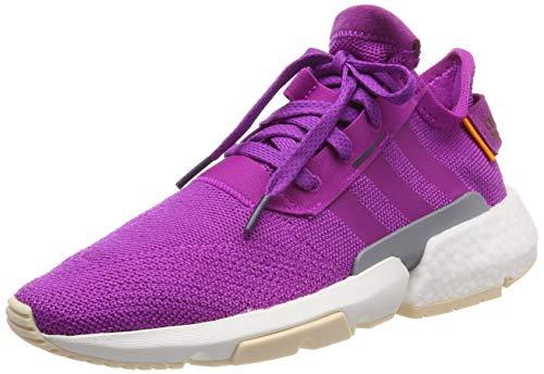adidas Pod-S3.1 W, Zapatillas de Gimnasia para Mujer, Rosa Vivid Pink/Legend Purple, 40 EU