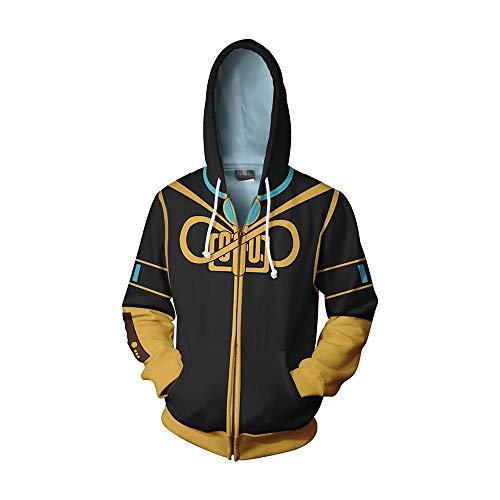 llover Spiel Sweatshirt Cosplay 3D Drucken Hoodie Shirt Chrismas Weihnachten Geschenk ()