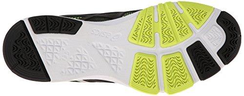 Asics S410N gel-exert T–Scarpe da uomo Black/Silver/Flash Yellow