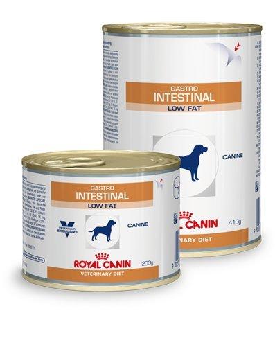 ROYAL CANIN Vet Diet Gastro Intestinal Low Fat Dosenfutter Hund, Gramm:12 x 200 gr.