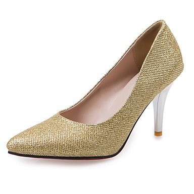 Zormey Frauen Heels Fr¨¹hling Sommer Herbst Winter Stoff Wedding Dress Party & Amp Abends Stiletto Heel Gold Silber Rot US3.5 / EU33 / UK1.5 / CN32