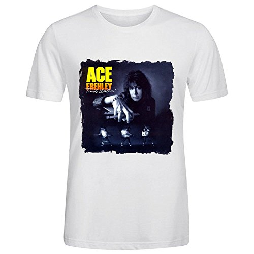 ace-frehley-trouble-walkin-t-shirts-for-men