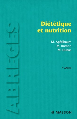 Télécharger en ligne Diététique et nutrition epub pdf