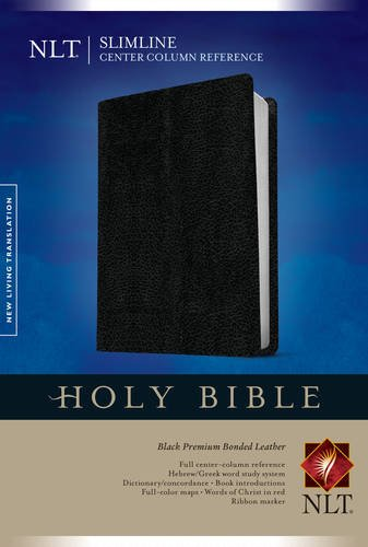 Slimline Center Column Reference Bible-NLT (Slimline Reference: Nltse)