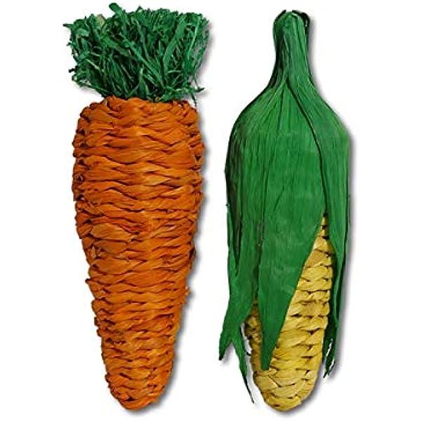 Rosewood Pet Banana Leaf Carrot Stuffer Toy