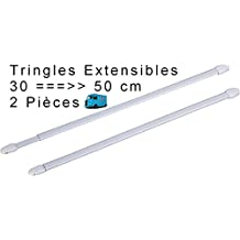 Tringle rideau sans percage - Tringle rideaux autobloquante fenetre pvc ...