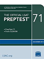 The Official LSAT Preptest 71: December 2013