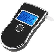 VicTsing CE19 - Alcoholímetro Digital Profesional LCD, con el sensor de nano-semiconductor avanzado, Incluye 5 boquillas recambiables, para detectar el nivel de alcohol en la sangre