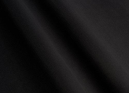 Microfaserstoff/Polsterstoff Alcantara Optik (Schwarz)