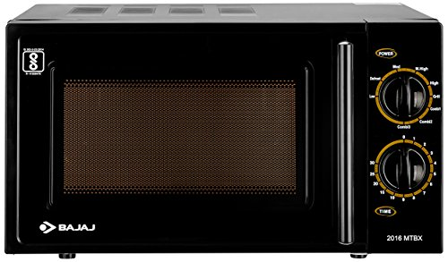 Bajaj MTBX 2016 20-Litre Grill Microwave Oven (Black)