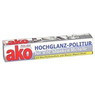 Ako polish Politur Metallpflege 100ml, 3er Vorteilspack (3 x 100ml)