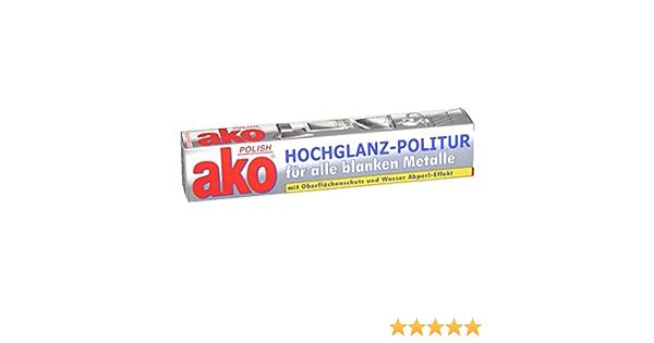 Ako Polish Politur Metallpflege 100ml 6er Vorteilspack 6 X 100ml Drogerie Körperpflege