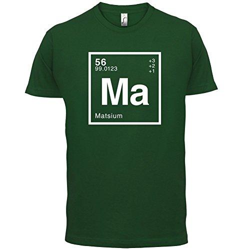 Mats Periodensystem - Herren T-Shirt - 13 Farben Flaschengrün