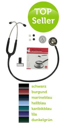 DocCheck Stethoskop Advance II, hunter green/dunkelgrün