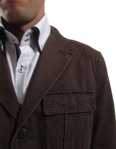 PuroEGO 47101 blazer pour homme Marron - Marron