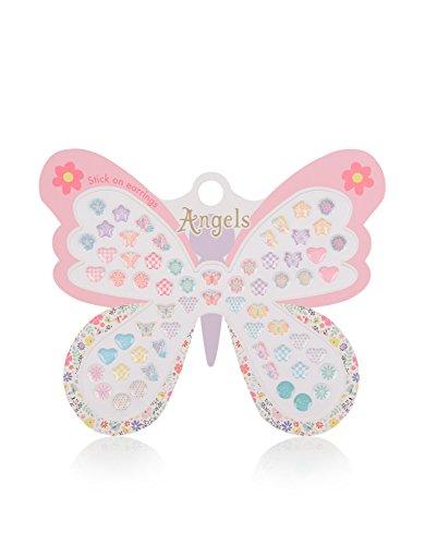 accessorize-boucles-doreilles-a-coller-motif-papillons-fille-taille-unique