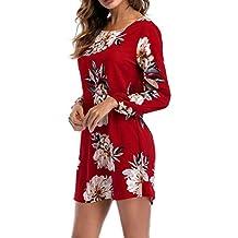 POLP Mujer Rayas Vestido Corta ◉ω◉ Ropa otoño Mujer Vestido Mujer Otoño Invierno Mujer