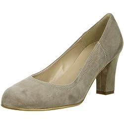 Vista Damen Pumps braun, Größe:41;Farbe:Grau