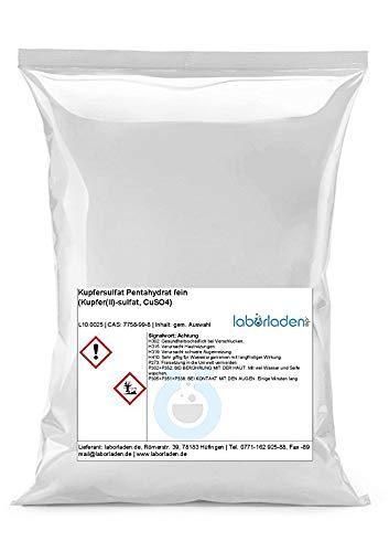 5kg Kupfersulfat Pentahydrat (Kupfer(II)-sulfat, CuSO4, für Labor, Werkstatt, Kristallzucht, Pool) (5)
