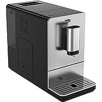 Beko CEG5301X Bean to Cup Coffee Machine, 19 Bar Pressure - Stainless Steel