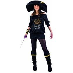 Lima - Disfraz de pirata para mujer, talla S (MA981)