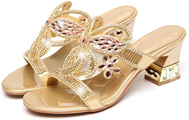 Selling Sandali con Diamanti da da da Donna, Sandali Estivi in Flash, Sandali con Tacco Alto, Abbigliamento Moda Sexy... | Shopping Online  | Gentiluomo/Signora Scarpa  fdf82d