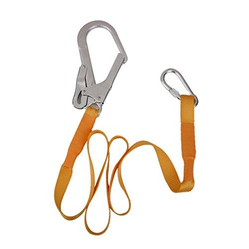 Magideal arrampicata corda cintura a bretella con moschettone fibbia alpinismo all'aperto sicurezza cordino