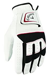 Callaway Men's X Hot All Weather Glove Left Hand X-Large - White, 29 cm