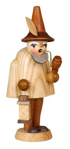 Un'altezza non dipinta di Elf della figurina dell'armadietto di esposizione di 9.5 montagne del minerale metallifero di Natale di Seiffen della scatola della regolazione di cm NUOVE