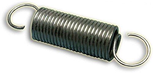 Auspufffeder, 53mm, silber verzinkt