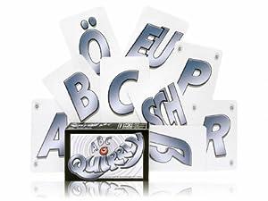 Adlung Spiele 46141 Quirrly ABC - Juego de Cartas del abecedario alemán
