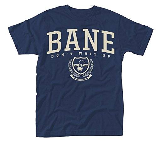 Plastic Head Bane Don't Wait Up, Camiseta para Hombre, Azul (Blue), Small