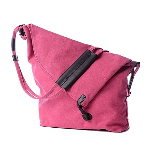 Greatan, Borsa a spalla donna caffè Coffee large Pink