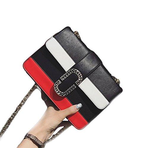 Borse A Tracolla Borse Da Donna Di KYFW Womens Fashion Tote Black