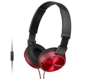 SONY MDR-ZX610 - noir/rouge - Casque