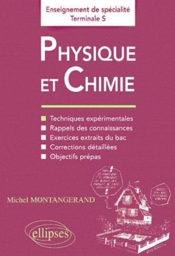 Physique-Chimie : Enseignement de spécialité en Terminale S